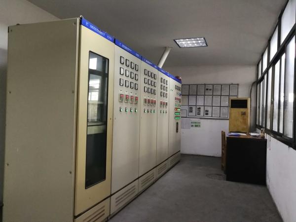 Heat treatment control room